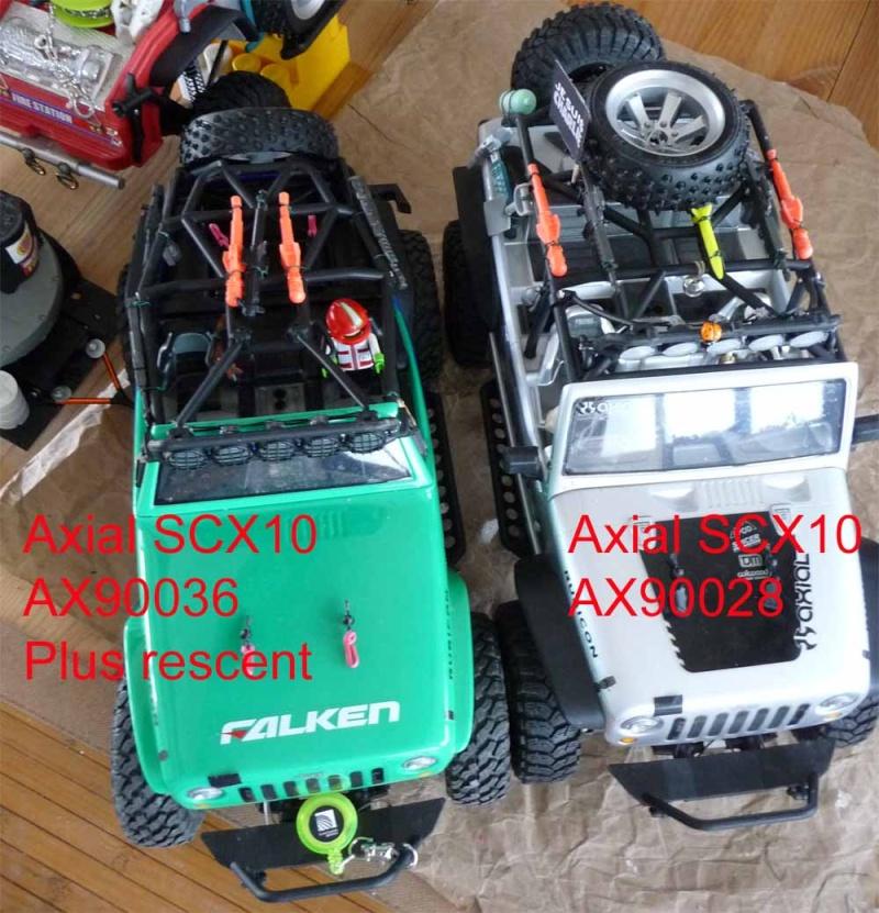 Découvrir les boites de transmission Axial et problème de refroidissement et fixation de moteur sur la boite de transmission de Axial SCX10 et Wraith 1-comp10