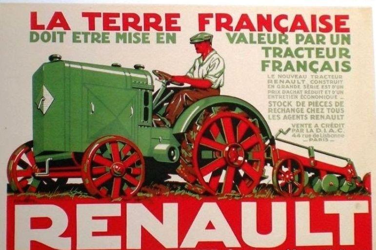Anciennes publicités agricoles Captur15