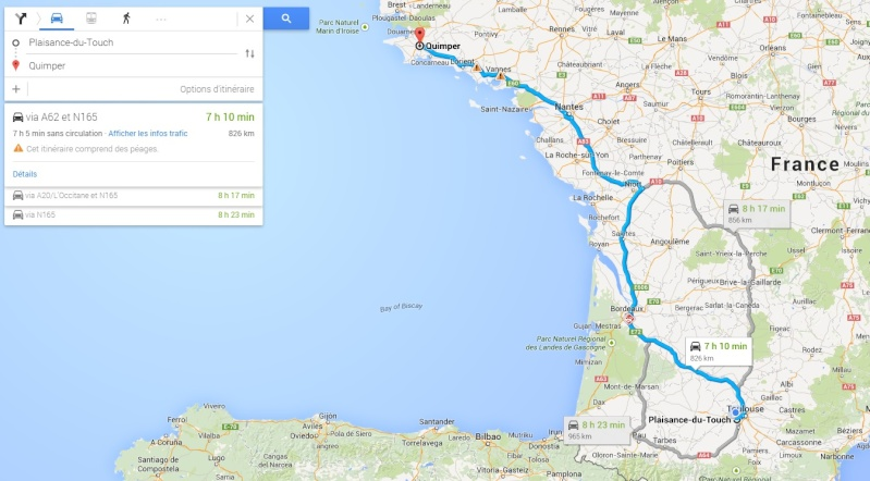 Toulouse > Quimper (850km) Tlse-q10