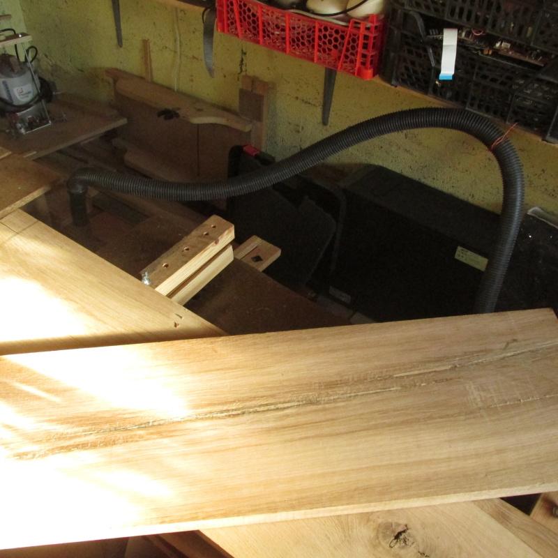 fabrication d'un bureau en chêne Img_1719