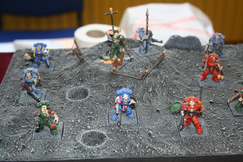 unité convertie pour Chaos Warhammer 40K  -  unité Necros Mortis 02010