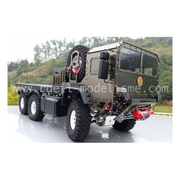 MAN Military truck - Snake Race - Alu only Man-6x10