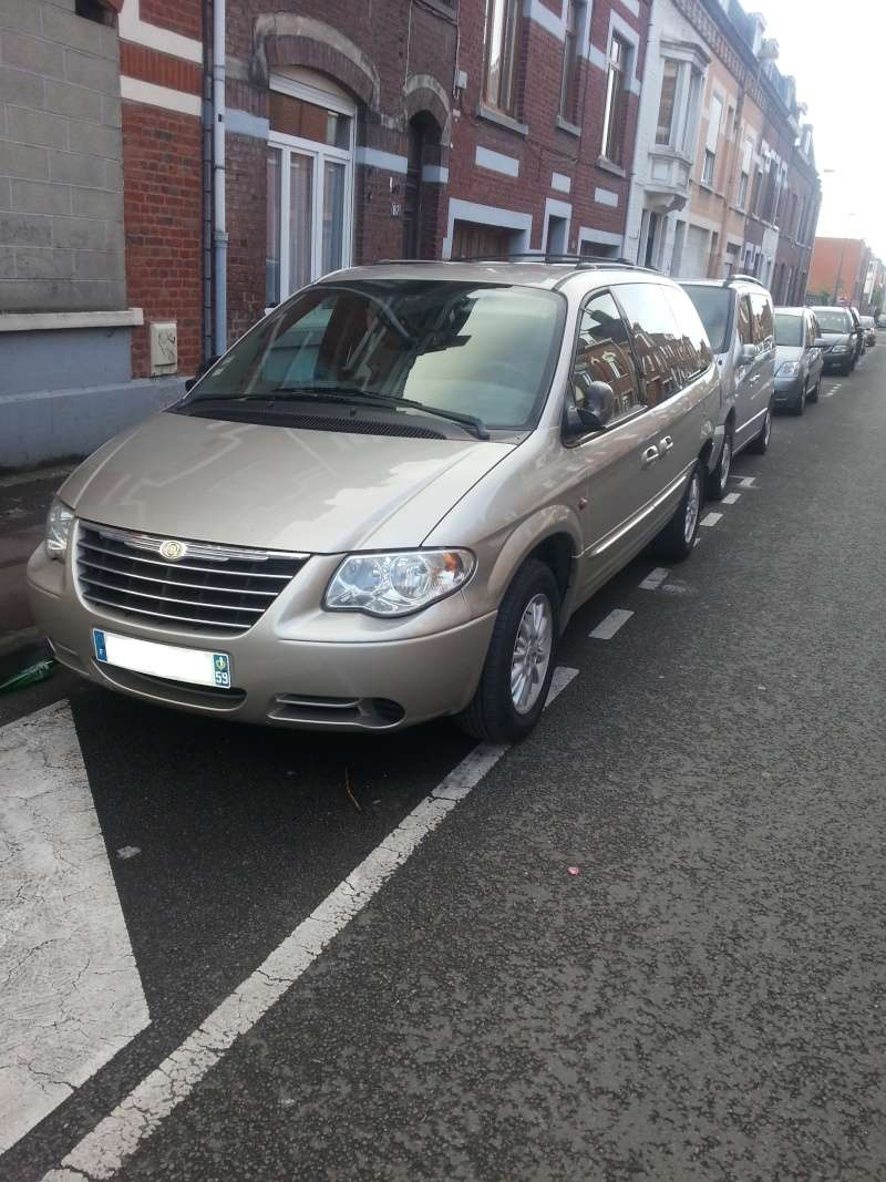 mon grand voyager 2.5 CRD limited 20150112