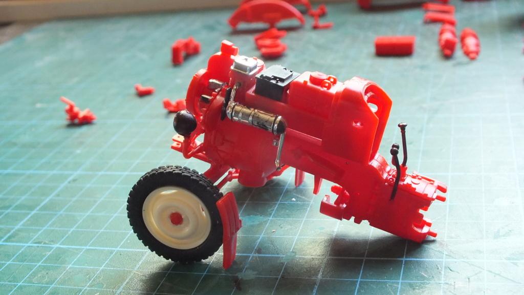 Traktor Porsche Diesel Revell 1:24 - gebaut von Klausgrimma Porsch28