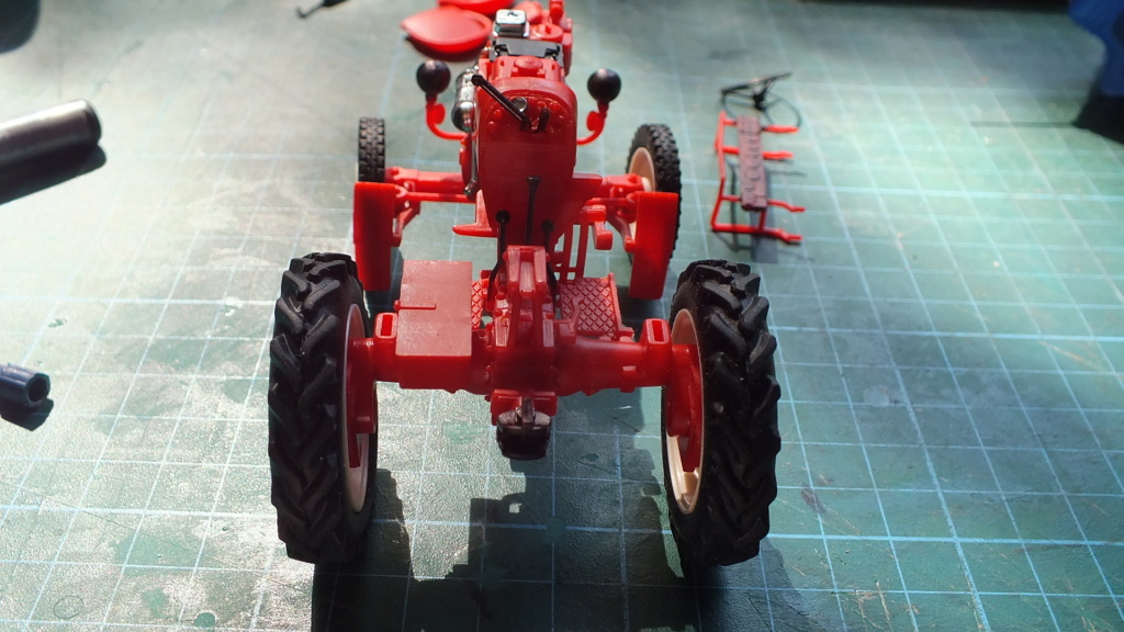 Traktor Porsche Diesel Revell 1:24 - gebaut von Klausgrimma Porsch41