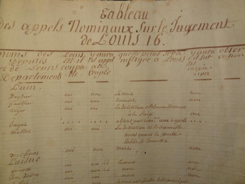 procès - Le procès de Louis XVI Dsc00126