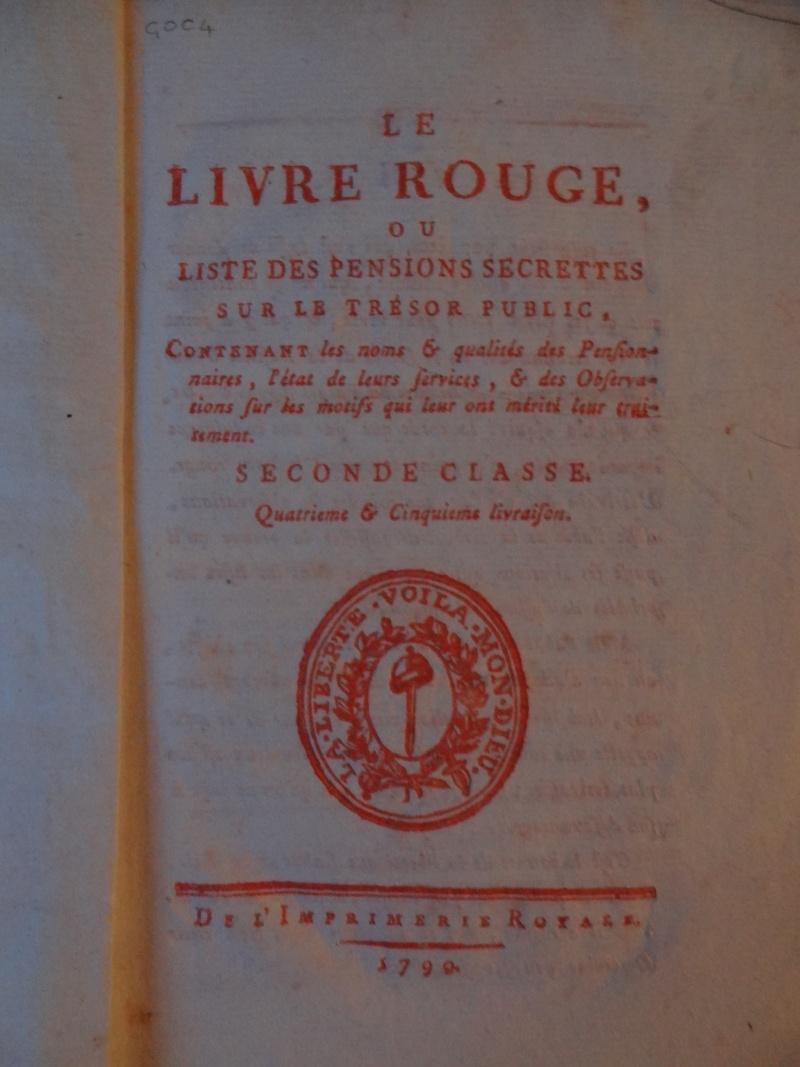 Les Polignac et la publication du Livre rouge Dsc00162