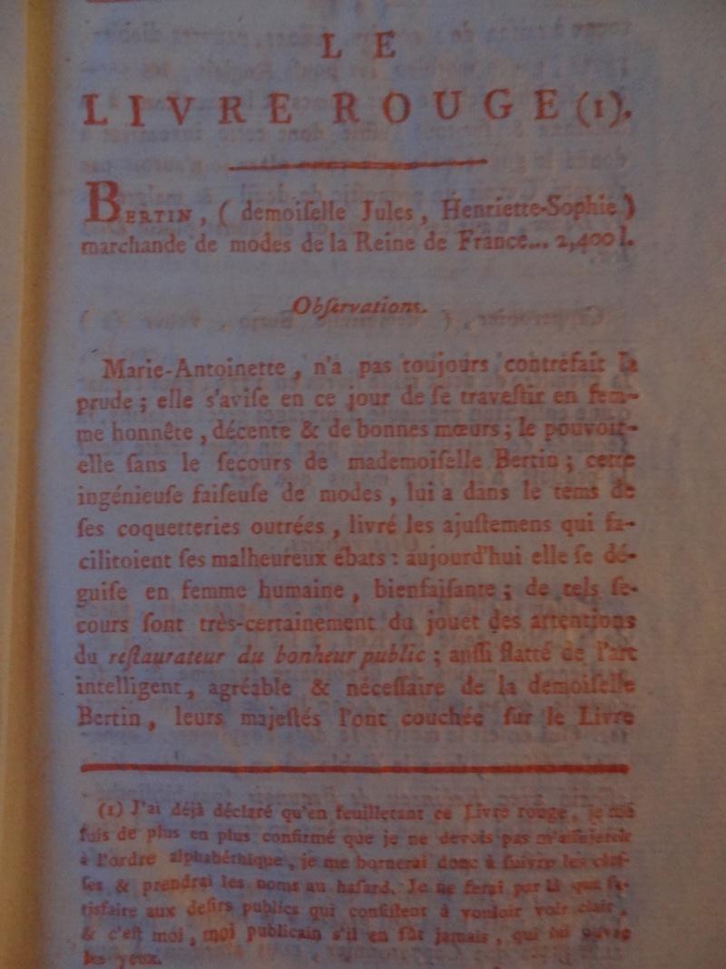 Les Polignac et la publication du Livre rouge Dsc00163