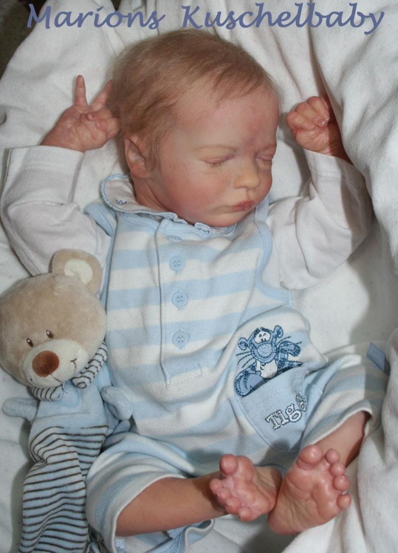 REALBORN . . Presley Asleep Aufrec10