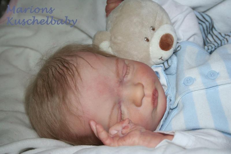 REALBORN . . Presley Asleep Close_10