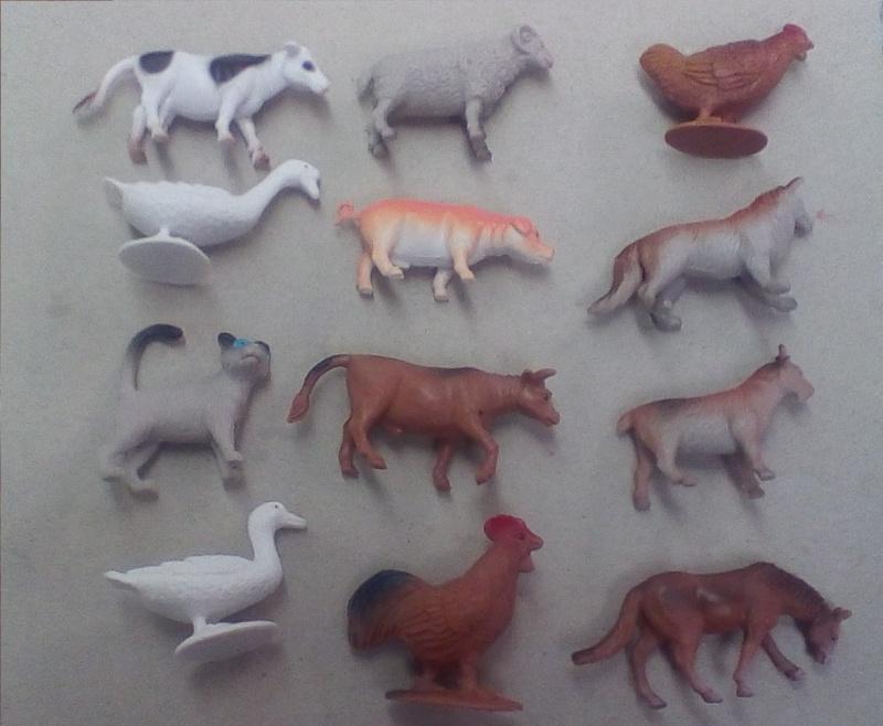 Terra by Battat Farm Animals (60 pc set) One10
