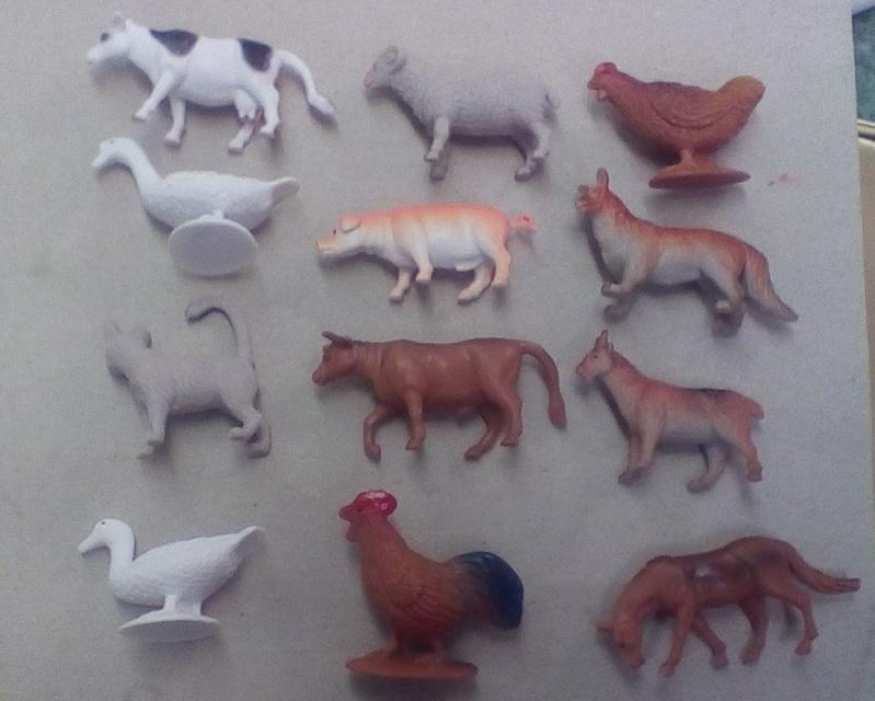 Terra by Battat Farm Animals (60 pc set) Two10