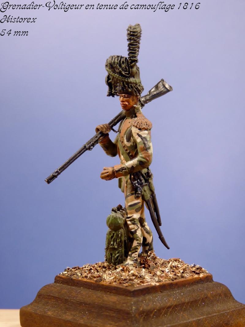 Historex - 54 mm - Grenadier-Voltigeur en tenue de camouflage 1816... Grenad11