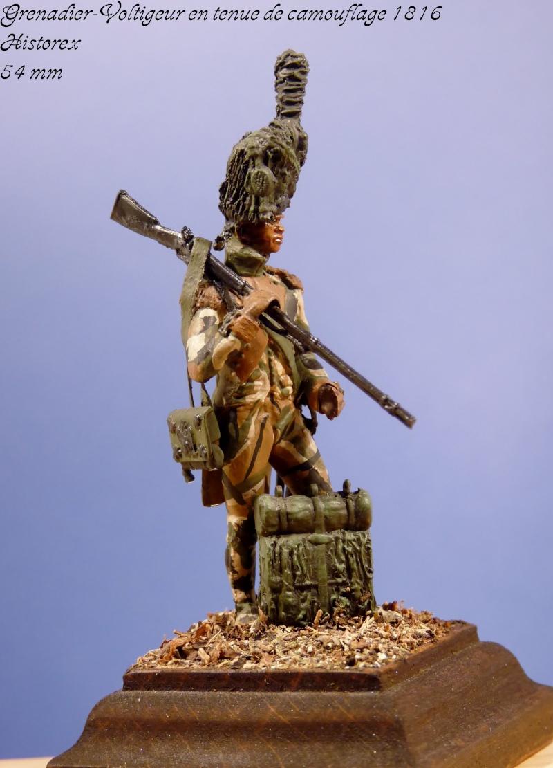 Historex - 54 mm - Grenadier-Voltigeur en tenue de camouflage 1816... Grenad13