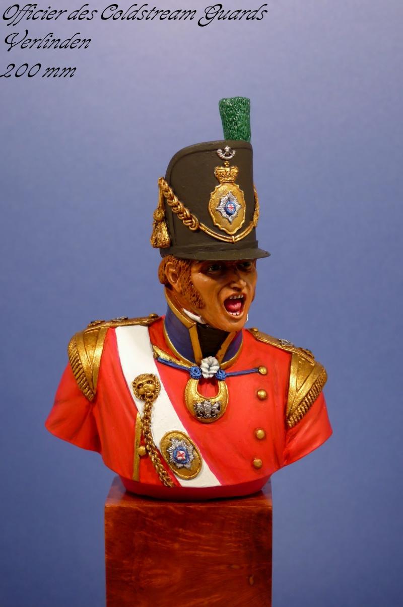 Verlinden - 200 mm - Officier des Coldstream Guards Offici10