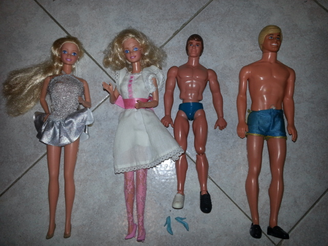barbie - LOTTO BARBIE, KEN e BIG JIM 70/80 20150114