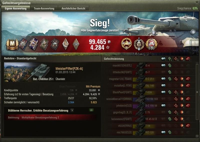 Erstes Panzerass auf der Batchat Shot_012
