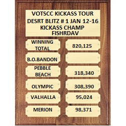 BLITZ DAILY WINNERS , WEEKLY WINNERS, COURSE TOTALS SEASON 1 18742_11