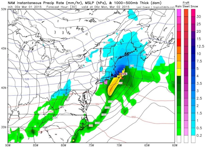 Sunday-Monday Snowstorm - 2nd Call Snow Map - Page 5 19656410