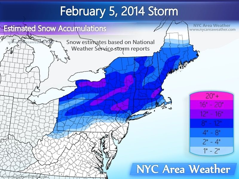 Update #2: 1st Call Snow Map, Intense Winter Storm Coming  - Page 23 2_5_1410
