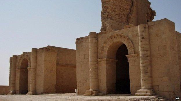 Islamic state 'demolish' ancient Hatra site in Iraq Iraq10