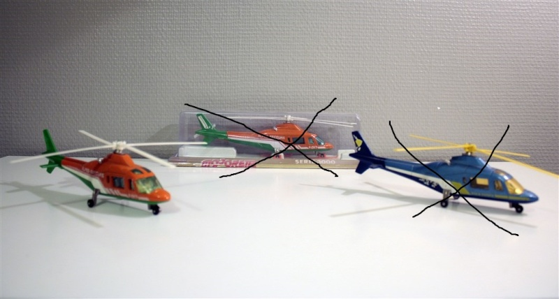 Ma Flotte (Gazelle,Dauphin,Agusta109) 2doubl10