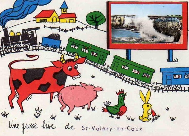 La gare de Saint Valéry en Caux 972_0010