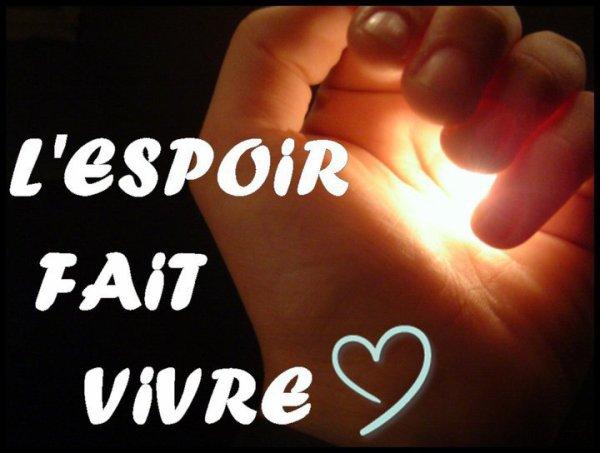 ♪♫♪ L'espoir ♪♫♪ Speranza ♪♫♪ 30211410