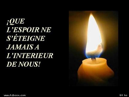 ♪♫♪ L'espoir ♪♫♪ Speranza ♪♫♪ Bougie10
