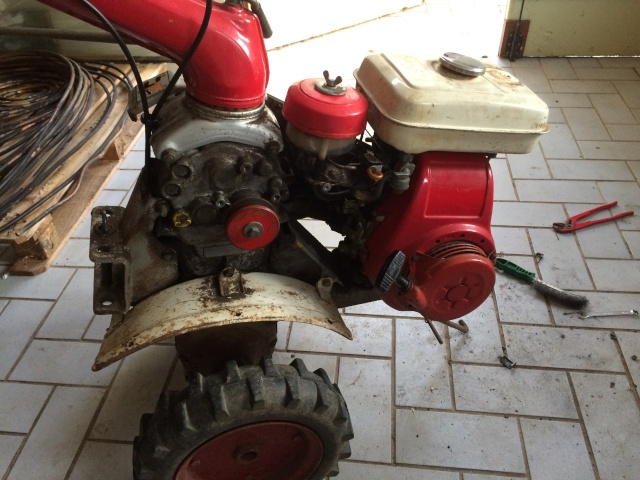 restauration - Restauration motoculteur (Honda F600) 10010
