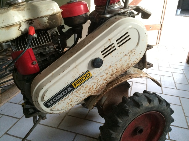 restauration - Restauration motoculteur (Honda F600) 10610