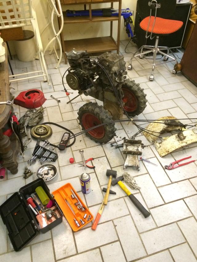 restauration - Restauration motoculteur (Honda F600) Img_2212