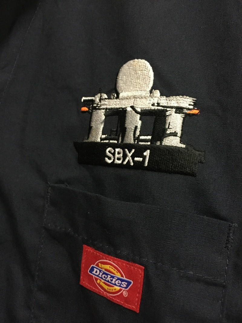 Sea Based X Band Radar SBX-1 — Contractor Coveralls Img_0911