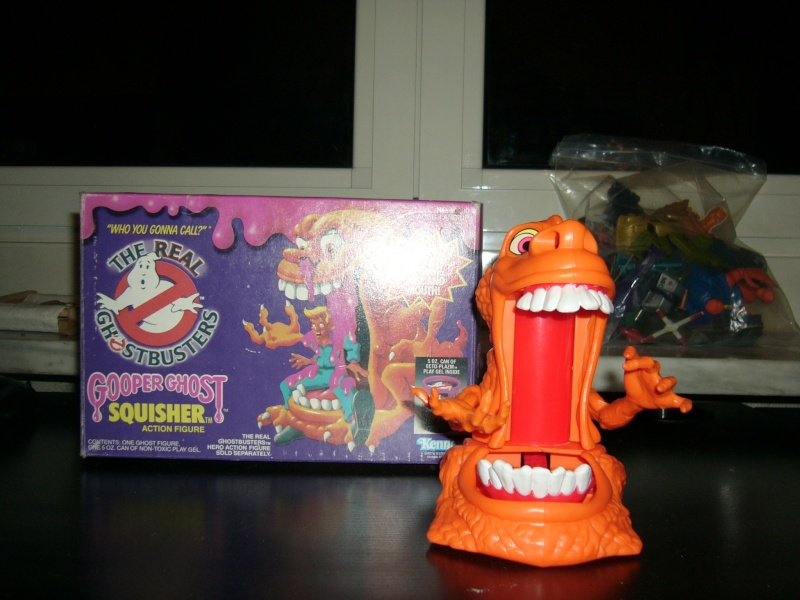 REAL GHOSTBUSTERS - RARA ACTION FIGURE - SQUISHER IN BOX P1010010