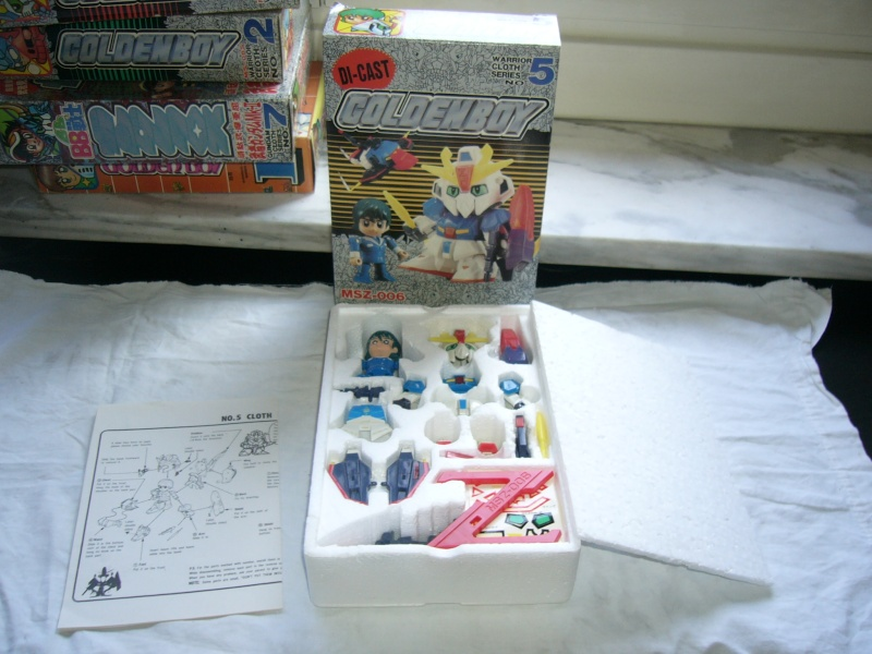 LOTTO 6 GUNDAM CLOTH SERIES DICAST RARO ANNI 80 VINTAGE P1010137