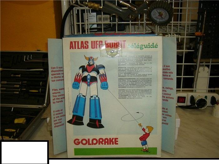 GOLDRAKE ATLAS UFO ROBOT VOLANTE TELEGUIDE COSMEC 1979 TOEI DYNAMICS RAI SACIS P1010140