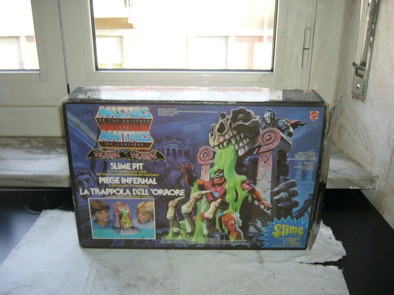 SLIME PIT - MASTERS OF THE UNIVERSE - MOTU IN BOX – MATTEL P1010222