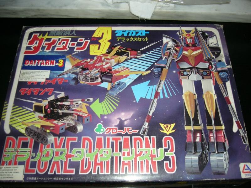 Daitarn 3 dx clover raro anni 80 vintage P1010615