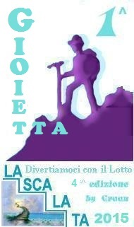 Vincitori della Scalata 2015 sono GIOIETTA, LOTTO_TOM75, GIORGIO1960 Scalat12