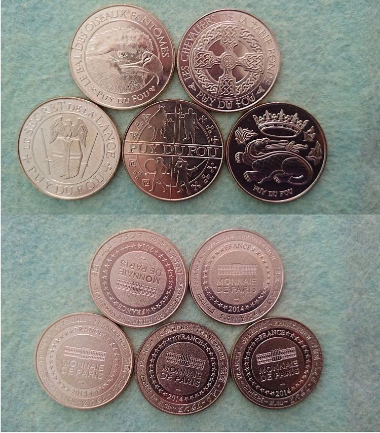Jeton de Tourisme; Monnaie de Paris _5710