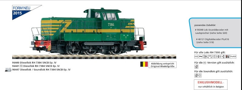 Nouveautés Ferroviaires 2015 ( Märklin Roco Noch Piko etc ) - Page 2 Piko_910