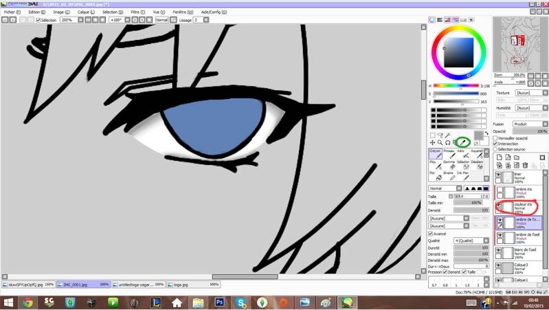 Tutoriel de colorisation sur Paint Tool Sai par Yagari Sbs_410