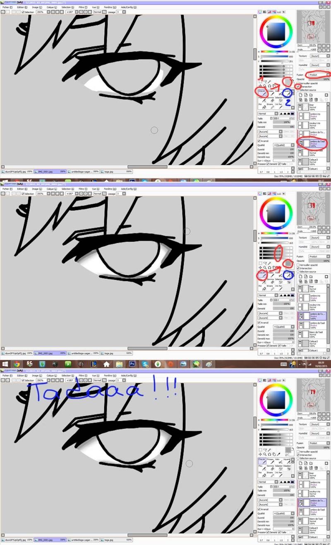 Tutoriel de colorisation sur Paint Tool Sai par Yagari Sbs_yt11