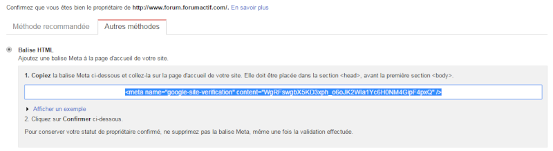 Intégrer Google Search Console sur un Forumactif Gwt210