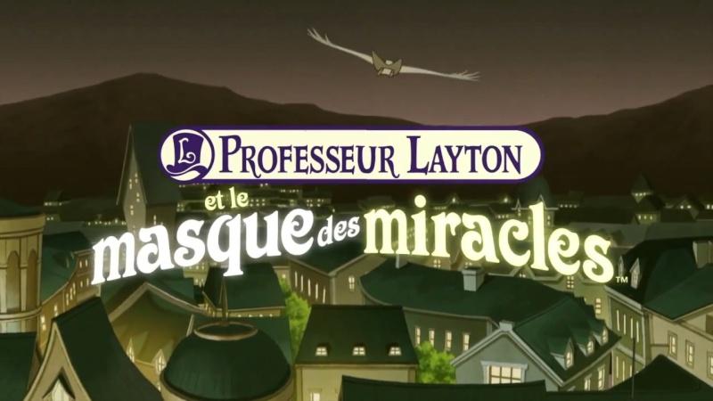Professeur Layton et le Masque des Miracles 13594010