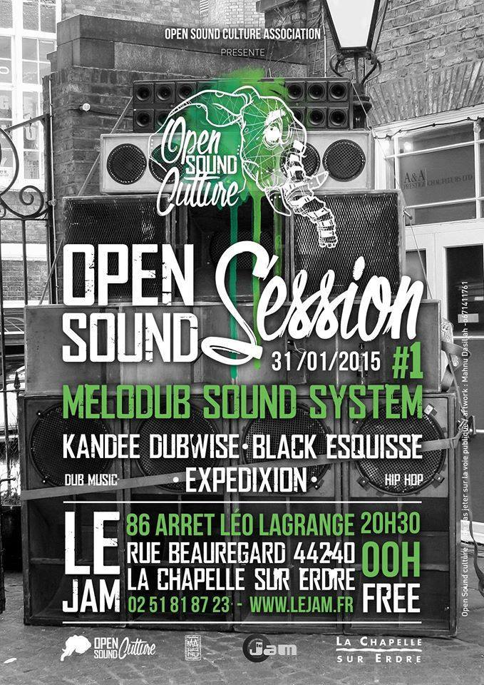 Soirée d'inauguration Open Sound Session#1 au Jam 31/01/15 10544311