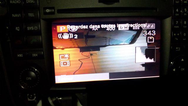 plus d'image de la camera de recul sur commande APS / caméra réparé Img_2011