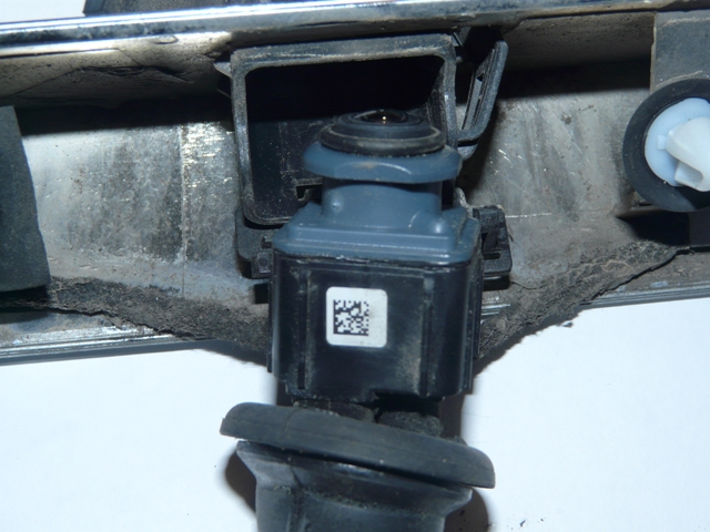 plus d'image de la camera de recul sur commande APS / caméra réparé P1090410