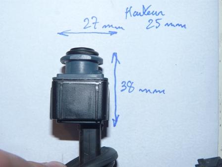 plus d'image de la camera de recul sur commande APS / caméra réparé P1090413