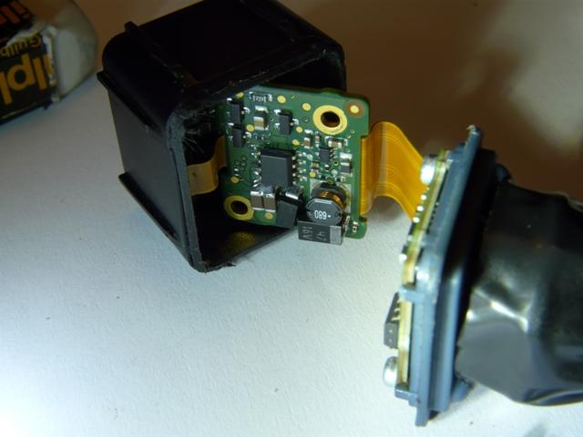 plus d'image de la camera de recul sur commande APS / caméra réparé P1090510